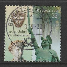 Germania 2009 bimillenary di VARO LIBRETTO TIMBRO SG 3603 fu