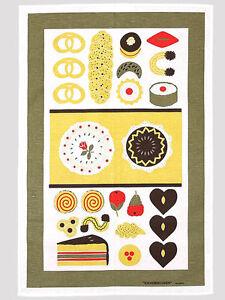 Almedahls Tea Towel-Sockerbagaren(=Bakery),Designer Kitchen Towel アルメダールス