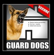 Guard Dogs  Random Barking and Growling Dog Sounds for Added Home Security Wh...