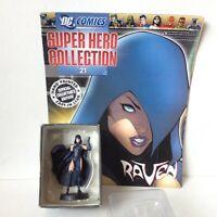 #21 RAVEN  FIGURINE SUPER HERO COLLECTIONS DC COMICS EAGLEMOSS 1:21