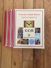 classically catholic memory alpha year student text