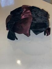 Antique Womens Velvet Hat