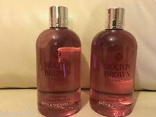 Molton Brown 2 x 300ml Intoxicating Davana Blossom Bath & Shower Gel NEW *LOOK*