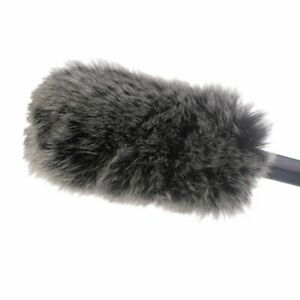 Microphone Windshield Dead Cat Artificial Fur Windscreen Muff Video Mic Tool