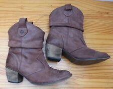 Why not Damen Schuhe Boots Stiefel Leder Gr. 40