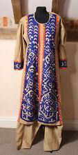 Ladies Indian Asian Bollywood Ethnic Boho Hippy Dress and Pantalons size UK 14