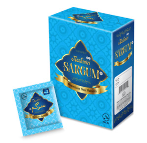 Kashmiri Sargum Premium Pan Masala Mouth Freshener 6 boxes x 24 Sachets = 144