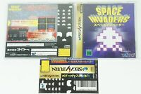 Space invaders SS Taito Sega Saturn Spine From Japan