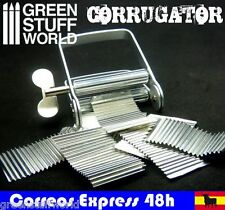 Corrugator - Herramienta para ondular o corrugar metales - Corrugado Diorama