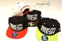 Sorry i'm Fresh snapback caps, flat peak baseball hats, hip hop bling camouflage