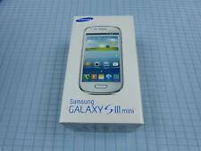 Samsung Galaxy S3 /SIII mini GT-I8190 8GB Pebble Blue!Ohne Simlock! TOP! OVP!#84