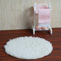 1:12 Puppenhaus Miniatur Möbel Mini Handtuchhalter Set G3G0 +weiße Decke Ac E7W3