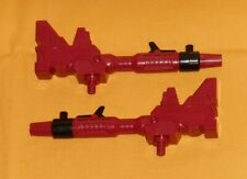 original G1 Transformers METROPLEX R+L RED CANNON weapons parts lot