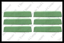 (6) 2lb Green Polishing Compound Universal One-Step Aluminum Stainless Steel