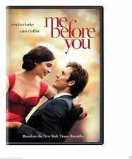 ME BEFORE YOU (DVD 2016) BRAND NEW!!! FREE SHIPPING ROMANCE SHIPPING NOW !