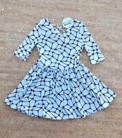 NEW DOT DOT SMILE Baby Girls 3/4 Sleeve Ballerina Dress NWT Size 6-12 months