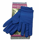 New Ladies Isotoner Stretch Leathers Lycra Black Gloves $50.00 Size M/L