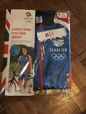 LADIES' TEAM GB CYCLING JERSEY  SMALL 8-10 OLYMPICS