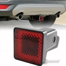 "Bully 2"" Hitch Cover Rear Trailer Towing Receiver w/ Brake Lights For STANDARD"