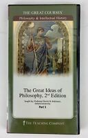 """The Great Courses """"The Great Ideas of Philosophy 2nd Edition: Part 5  2 DVD Set"""