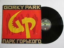 GORKY PARK S/T Same Omonimo LP EUROPEAN PRESS HARD ROCK NO CD MC