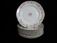 TAYLOR SMITH TAYLOR (TS&T) Salad Plate TST180 VOGUE Scroll FLORAL RIM/CENTER