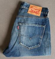Herren Jeans LEVIS LEVI´S 501 Original Fit Dark W32 L32
