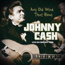 JOHNNY CASH New Sealed 2018 UNRELEASED LIVE 1986 US CONCERT CD