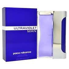 Paco Rabanne Ultravioleta Hombre 100ml EDT Spray - Marca Nuevo en caja