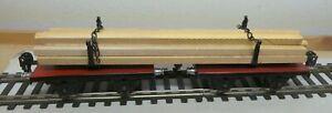 Märklin Scale 0 Long Wood Wagon 1961 G Erstklassig