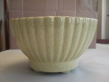 Vintage Round Cream Planter, 4 x 6.5, Marked - UPCO - 401 USA