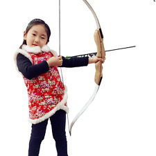 Beginner 16lbs Recurve Bow Archery Right Hand Shooting Training Hunting Longbow