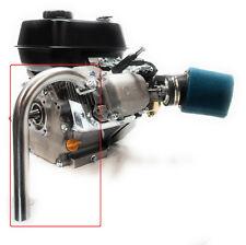J Exhaust Pipe for: Predator 212cc, Honda Gx160, Gx200, DuroMax Xp7Hpe 7