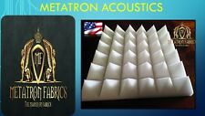 """12 Pack Pyramid Acoustic Foam Studio Soundproofing Wall insulation 2""""x 12""""x 12"""""""