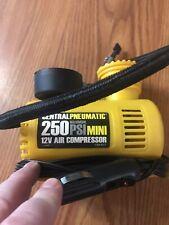 12 volt mini air compressor Central Pneumatic Hand Held Tire Pump