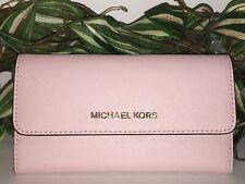 Michael Kors 35s8gtvf7l Jet Set Travel Large Trifold Wallet Blossom
