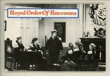 Movie / TV Television Show chrome postcard The Honeymooners #638 Raccoons