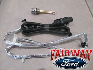 2020 Super Duty OEM Ford 6.7L Diesel Block Heater Element & Wire Cord