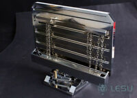 LESU Metal Rear Plate for 1/14 Scale Tamiya King RC Trucks Tractors Cars Part