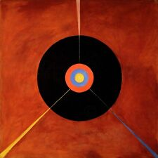 PAINTING HILMA AF KLINT 1915 THE SWAN NO LARGE WALL ART PRINT POSTER LF2649