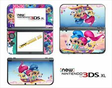 SKIN STICKER AUTOCOLLANT - NINTENDO NEW 3DS XL - REF 211 SHIMMER AND SHINE