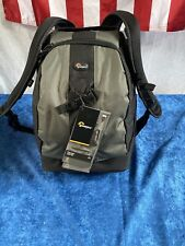 Genuine Lowepro Flipside 400 AW Camera Photo Bag Backpack Black/Green
