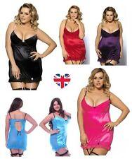 Satin Glamour Babydoll Short Lingerie & Nightwear for Women