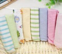 8pcs/pack Cotton Newborn Baby Towels Saliva Bibs Towel Nursing
