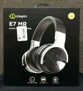 Cowin E7MR Active Noise Cancelling Over-Ear Headphones w/Microphone~ New!