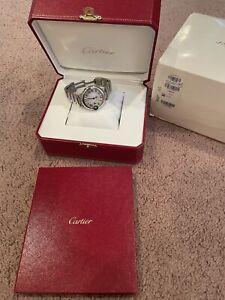 Cartier Ballon Bleu Silver Women's Watch - W6920084
