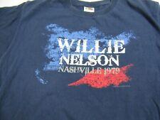 Willie Nelson Nashville T Shirt Men's  M