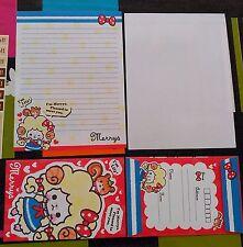 sanrio merrys   NOTE  LETTER  1 SHEET 1 envelope