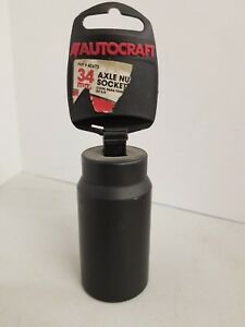 AutoCraft Axle Nut Socket 34mm - New