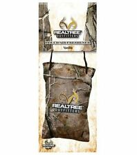 REALTREE Camo Vanilla Car Air Freshener Pouch Deer Hunter Camoflage Truck